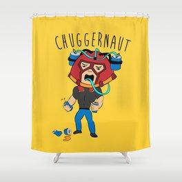 I'm the Chuggernaut, bitch! Shower Curtain