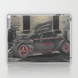 Hot Rod Batmobile  Laptop & iPad Skin