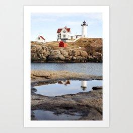 Nubble Light, York, Maine Art Print