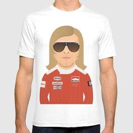 James Hunt T-shirt