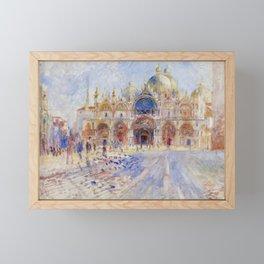 Auguste Renoir - The Piazza San Marco in Venice Framed Mini Art Print