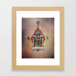 Squid Ascendant Upon the Cabinet of Thackery v.1 Framed Art Print