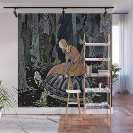 """The Black Tortoise"" by Virginia Frances Sterrett Wall Mural"