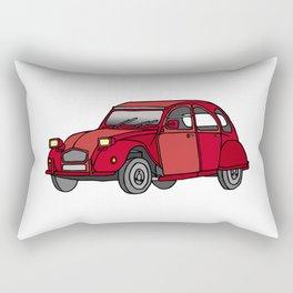 2CV french oldtimer car Rectangular Pillow
