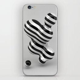 Primitive Stripes iPhone Skin