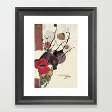 Your Mind Is In Disturbia Framed Art Print