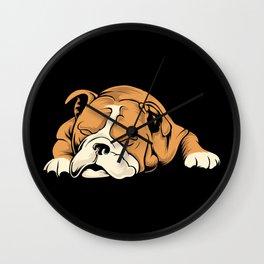English Bulldog | Dog Lover Wall Clock