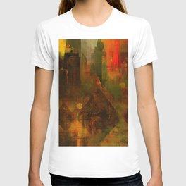 Pyramidal city T-shirt