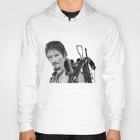 daryl dixon Hoodies featuring Daryl Dixon by Brittany Ketcham