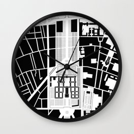 Invalides. Paris Wall Clock
