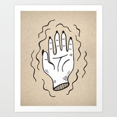 Handy Work Art Print