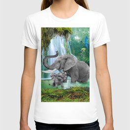 ELEPHANTS OF THE RAIN FOREST T-shirt