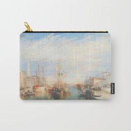 Venice from the Porch of Madonna della Salute by Joseph Mallord William Turner ca. 1835, British Carry-All Pouch