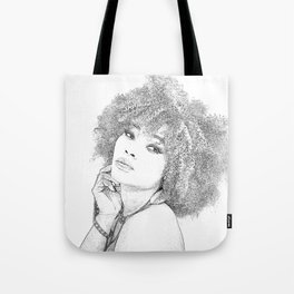 Woman Frizzy Tote Bag