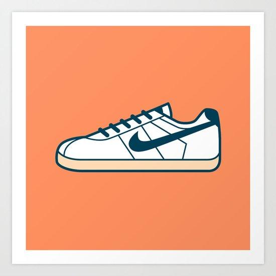 #55 Nike Cortez Art Print