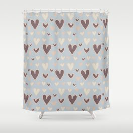 Aesthetics: abstract pattern Shower Curtain