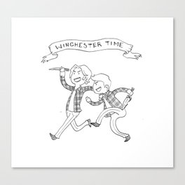 Winchester Time! Canvas Print