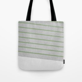 Concrete & Stripes II Tote Bag