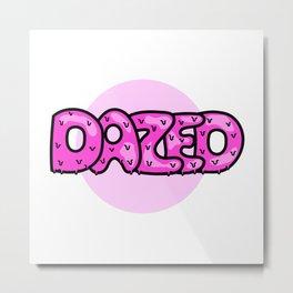 Dazed I Metal Print
