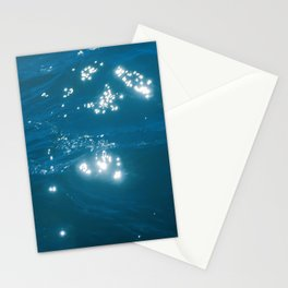 Ocean Water Background, Wave Close Up Stationery Cards