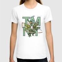 tmnt T-shirts featuring TMNT by Ryan Liebe