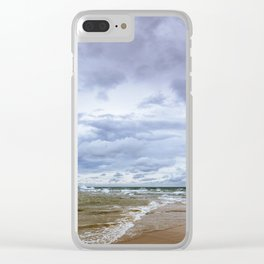 Where Two Oceans Meet Clear iPhone Case