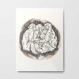 Hugs Metal Print