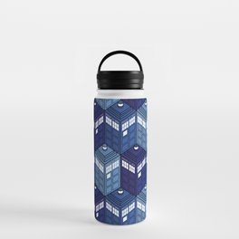 Infinite Phone Boxes Water Bottle