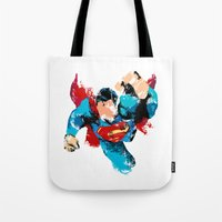 hero Tote Bags featuring HERO by ALmighty1080