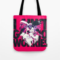 lebron Tote Bags featuring LEBRON 2 TIME CHAMPION by mergedvisible