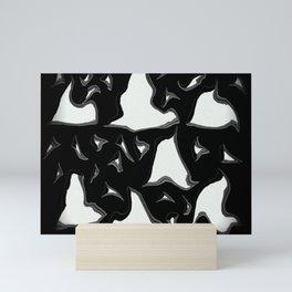 Paper cuttings Mini Art Print