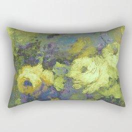 painted roses Rectangular Pillow