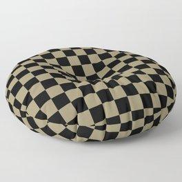 Ch-ch-check Floor Pillow