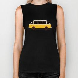 Yellow Van II Biker Tank