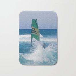Hookipa Windsurfing North Shore Maui Hawaii Bath Mat