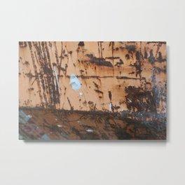 rusty Metal Print