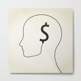 Dollar a head Metal Print