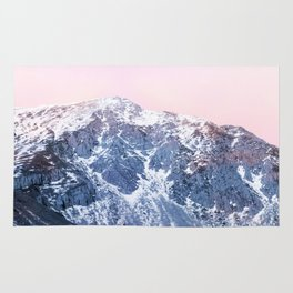 Rose Quarz and Serenity Mountains Rug
