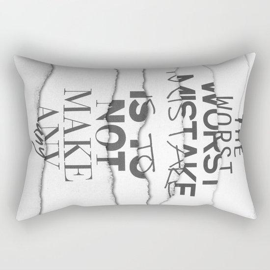 The Worst Mistake Rectangular Pillow