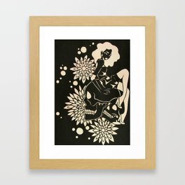 """I Give Life, Not Death"" Framed Art Print"