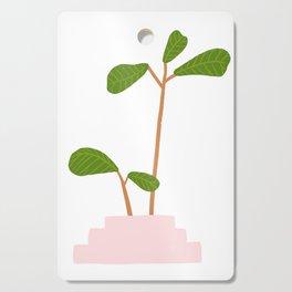 Fiddle Leaf Fig Tree Plant Cutting Board