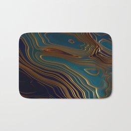 Peacock Ocean Bath Mat