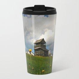 Cabin on the Mountain Travel Mug