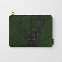 Oh dear leaf bckgrnd Carry-All Pouch