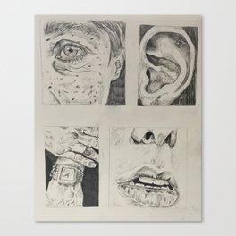 Parts Canvas Print