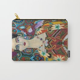Miss Paisley Carry-All Pouch