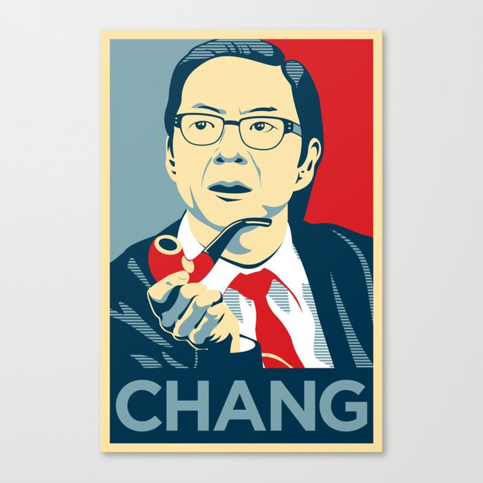 Chang We Can Believe In (Community) Canvas Print