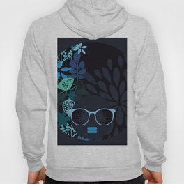 Afro Diva : Sophisticated Lady Teal Hoody
