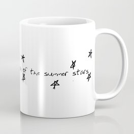 you'll find me in the region of the summer stars (niall) Coffee Mug