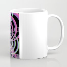 Lattice in Blue and Pink Coffee Mug